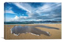 Scarista Beach, Isle of Harrishttp://mem.photo4me, Canvas Print