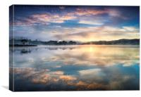 Kinlochard Sunrise, Canvas Print