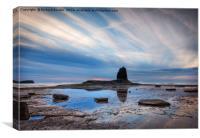 Summer Sunset, Saltwick Bay, Canvas Print
