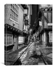 The Shambles, York, Canvas Print