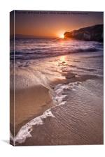 Selwicks Bay Sunrise, Canvas Print
