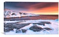 Rodebay Sunset, Canvas Print