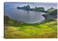 Village Bay, St. Kilda, Canvas Print