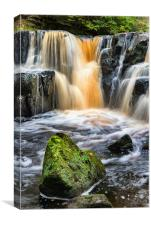 Nelly Ayre Falls, Canvas Print