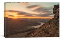 Bamford Edge, Canvas Print