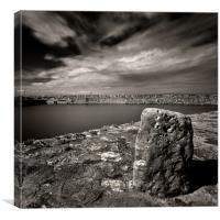 Empty Harbour, Canvas Print