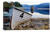 Boat Number 4, Canvas Print