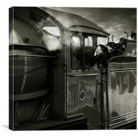 LNER D49 Class 4-4-0 No.246 Morayshire. (A), Canvas Print