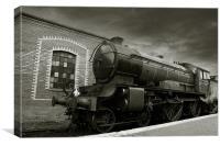 LNER D49 Class 4-4-0 No.246 Morayshire. (E), Canvas Print