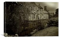 Wells, Somerset, Canvas Print