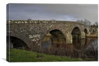 Old Drip Bridge, Canvas Print