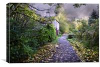 Old Cottage, Canvas Print