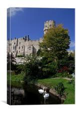 Warwick Castle, Canvas Print