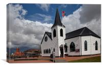 Norwegian Church, Canvas Print