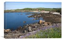 Cemaes Bay, Canvas Print