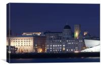 Liverpool City View, Canvas Print