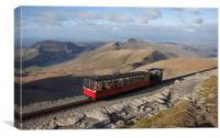Snowdon Mountain Railway, Canvas Print
