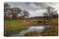 Charlecote Park, Canvas Print