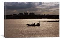 Trearddur Bay Lifeboat, Canvas Print