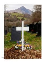 Grave and the Cnicht, Canvas Print