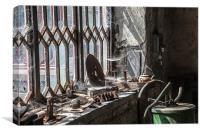 Cobweb view, Canvas Print