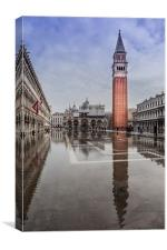 St Marks Square, Canvas Print