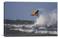 Jet Skier, Canvas Print