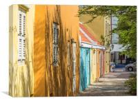 Views around Wilemstad, Canvas Print