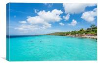 Coral Estate scenic photos  Curacao views , Canvas Print