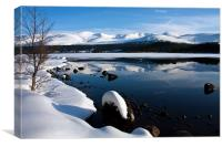 Winter Views at Aviemore, Canvas Print