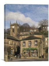Holmfirth, Canvas Print