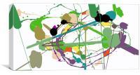 Pollock 01, Canvas Print