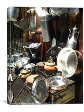 Pots and Pans, Canvas Print