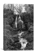 Karn Falls, Canvas Print