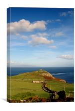 Torr Head, Canvas Print