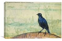 The Grackle, Canvas Print
