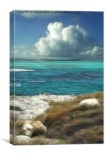 Nonsuch Bay, Antigua, Canvas Print