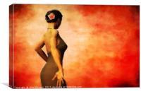 Flamenco, Canvas Print