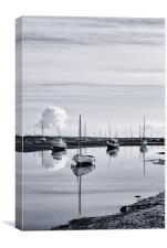 Pollywiggle, Brancaster Staithe, Norfolk, UK, Canvas Print