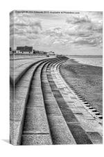 North Beach, Heacham, Norfolk, Canvas Print