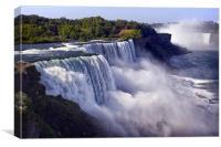The Fury of the American Falls - Niagara, Canvas Print