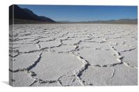 Badwater Basin, Death Valley, Canvas Print