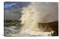 Southsea Storm, Canvas Print