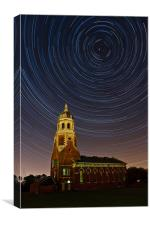 Netley Chapel Startrails, Canvas Print