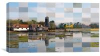 Multiple Visions of Langstone Mill 2, Canvas Print