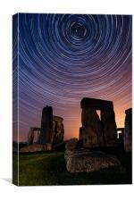 Stonehenge Startrails 3, Canvas Print