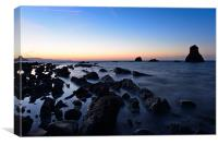 Mupe Rocks Dawn, Canvas Print
