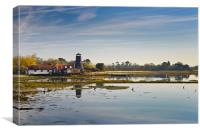 Langstone Mill, Hampshire, Canvas Print