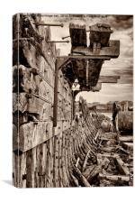 Gone to Wreck & Ruin, Canvas Print