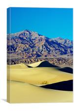 Mesquite Sand Dunes, Death Valley, Canvas Print